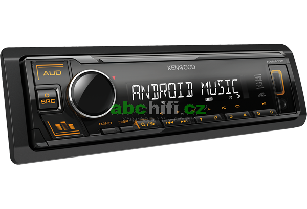KENWOOD KMM-105AY - Autorádio s USB, bez mechaniky
