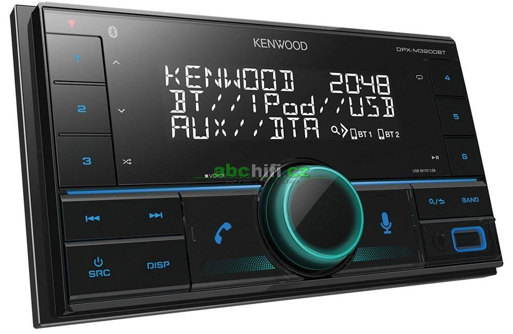 KENWOOD DPX-M3200BT - 2DIN autorádio s Bluetooth a USB