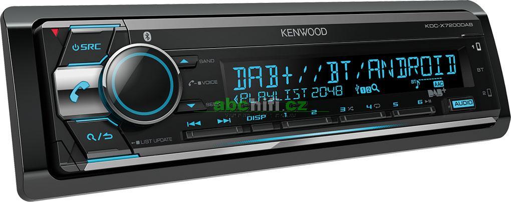 KENWOOD KDC-X7200DAB - Autorádio 1DIN s digitálním tunerem a DSP
