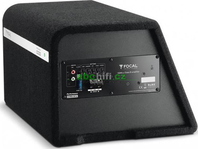 subwoofer focal auditor bomba bp20. Black Bedroom Furniture Sets. Home Design Ideas