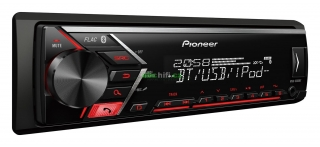 PIONEER MVH-S300BT - Autorádio s USB a bluetooth hands free, bez mechaniky