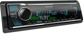 KENWOOD KMM-BT306 - Autorádio s USB a bluetooth hands free, bez mechaniky