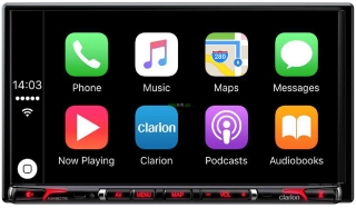 "CLARION NX 807 E - Autorádio s GPS navigací, displej 7"", CarPlay"