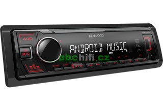 KENWOOD KMM-105RY - Autorádio s USB, bez mechaniky