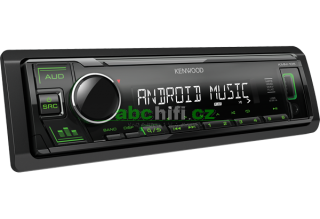 KENWOOD KMM-105GY - Autorádio s USB, bez mechaniky