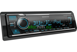 KENWOOD KMM-BT505DAB - Autorádio s USB, DAB a Bluetooth, bez mechaniky