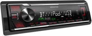 KENWOOD KMM-BT206 - Autorádio s USB a bluetooth hands free, bez mechaniky