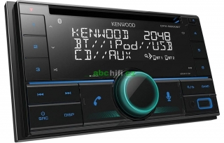 KENWOOD DPX-5200BT - Autorádio s Bluetooth, CD a DSP procesorem
