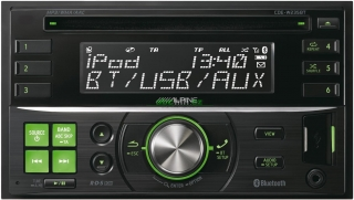 ALPINE CDE-W235BT - 2DIN autorádio s USB a Bluetooth