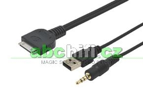 iPod/iPhone video adaptér USB / JACK