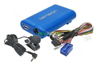 VW GATEWAY Lite3 - Bluetooth HF sada + iPhone / iPod / USB vstup