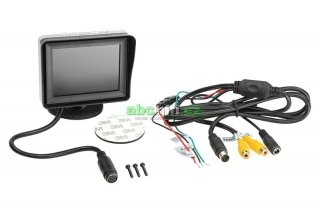 "LCD monitor 3,5"" 2x video vstup, 4:3"