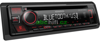 KENWOOD KDC-BT440U - Autorádio s Bluetooth, USB, iPhone, Android ready