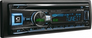 ALPINE CDE-193BT - Autorádio s Bluetooth a s USB